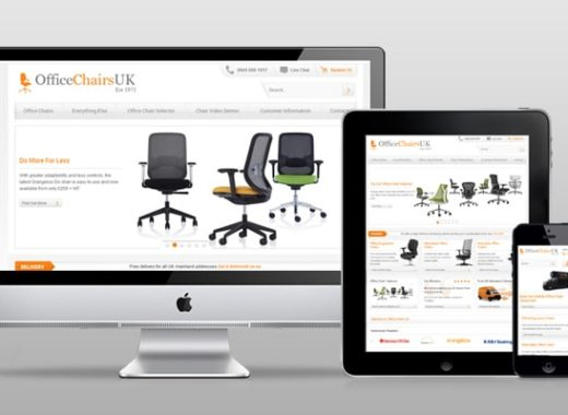 New E-commerce Site for Office Chairs UK