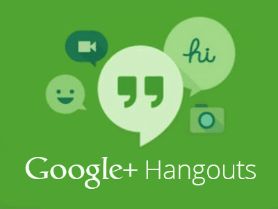 Google Hangouts – Letting It All Hang Out?