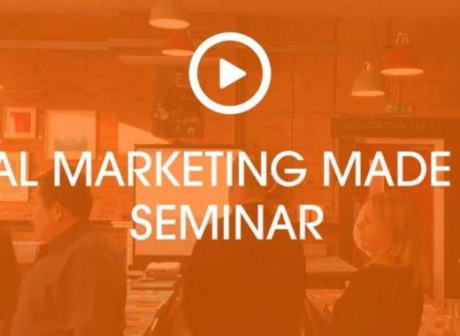 Digital Marketing Made Easy Seminar