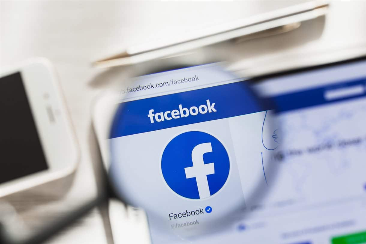 View of Facebooks profile