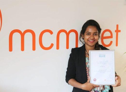MCM Net Continues Sponsorship of University of Kent's Employability Points Scheme