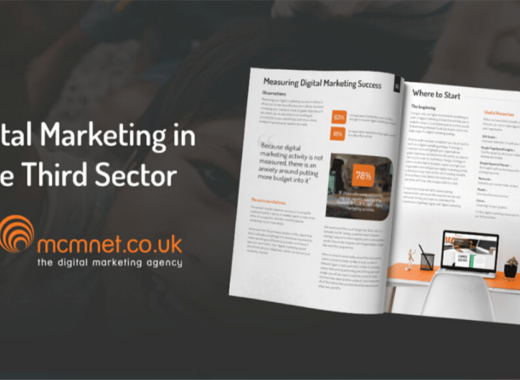 MCM Net Release Digital Marketing in the Third Sector Report