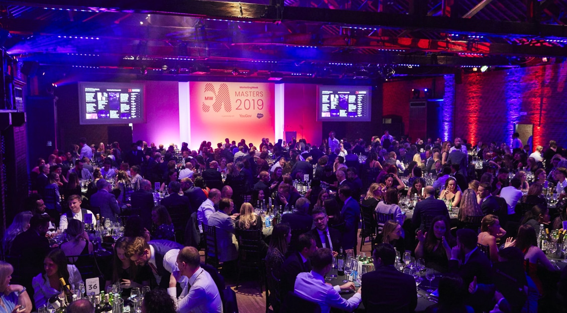 picture of crowd at Marketing week Masters